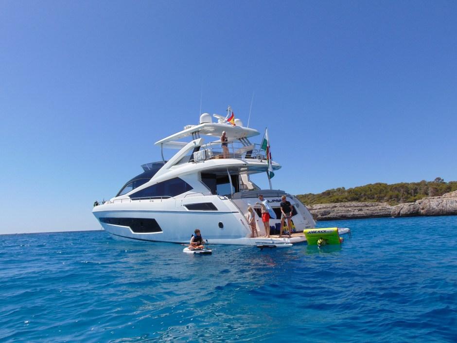 BROKERAGE: Thomas Wills presents 'GLASAX', the stunning Sunseeker 75 yacht