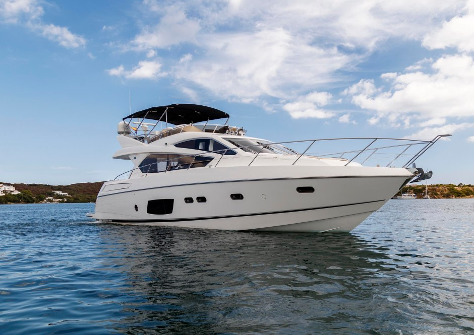 NEW LISTING: Sunseeker Poole are delighted to present the stunning 2012 Sunseeker Manhattan 63 'SEA ESTHER'