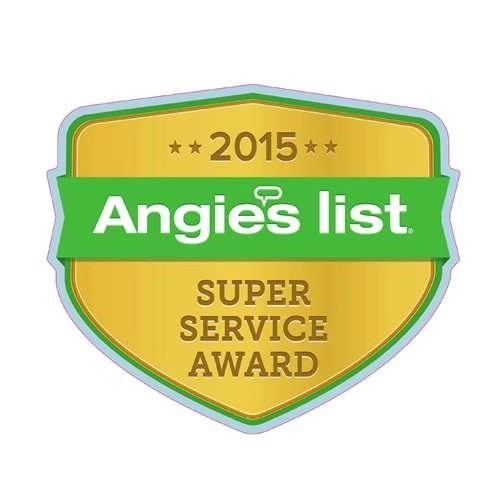 2015 Angies List Super Service Award - Sunset Air and Home Services