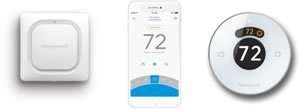 Sunset Air and Home Services - Honeywell Leak Detector - App - Thermostat