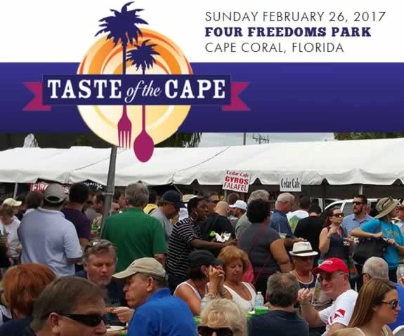 Taste Of The Cape - Cape Coral Chamber of Commerce