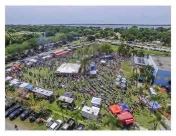 BBQ Bands and Brew - 2016 Event Arial View