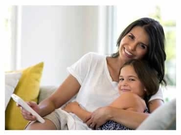 Daikin - Mini Split Air Conditioning Systems - Mom and Daughter
