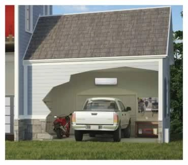 LG Life's Good - Mini Split AC Systems - Garage