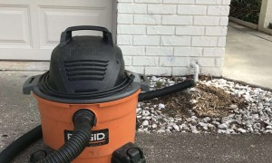 Wet dry vac - Clogged Drain Line - Fort Myers - Sunset Air & Home Services