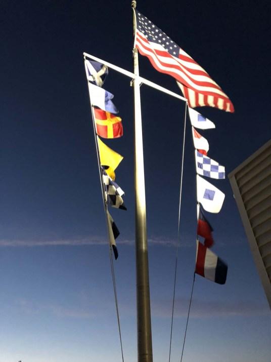 Marina flags