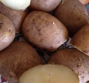 My dad's yummy otatoes