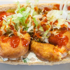 New Orleans Style Fried Shrimp PO-BOY-athentic and delicious. I will show you where to get the real ingredients at home.
