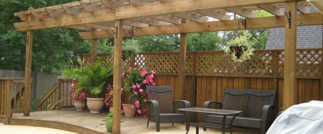 Deck Builder, Garden Structures, Pergolas & Arbors ... on Patio Cover Ideas Uk id=12197