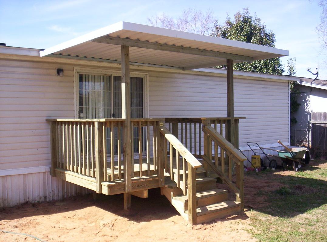 Mobile Home Decks
