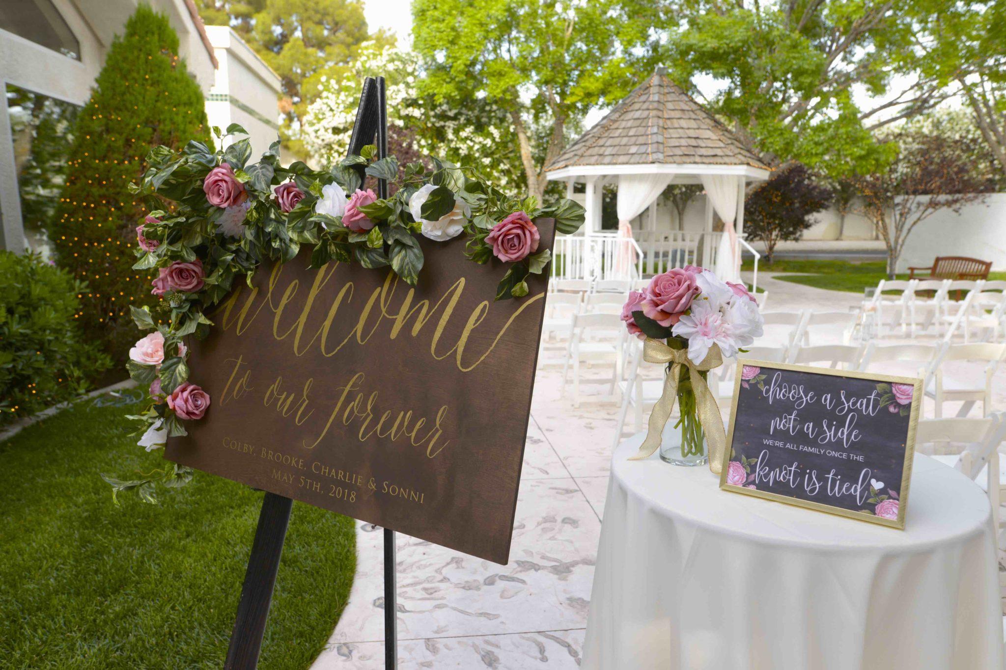 Flower Arrangements for Weddings in Las Vegas | Sunset Gardens