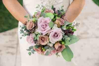 pink bouquet -SB