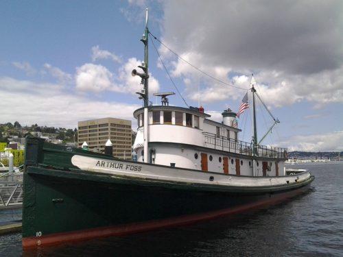 Tugboat Arthur Foss Story 3/29/19