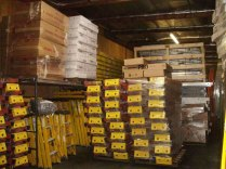 sunset ladder inventory of wood ladders, fiberglass ladders and other inventory