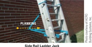 side rail ladder jack