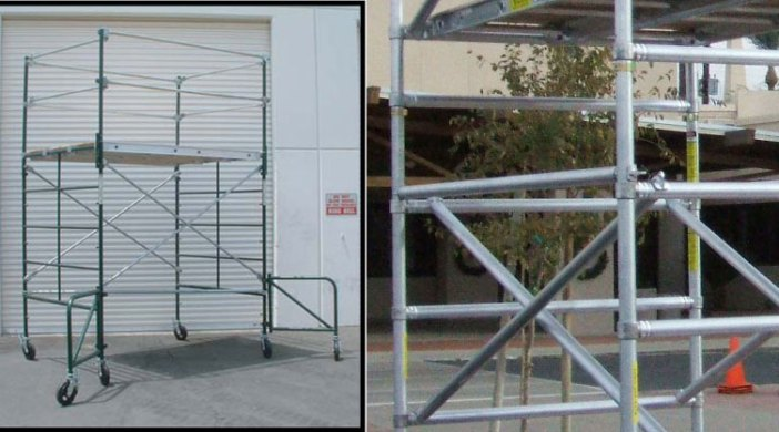 Ladder Scaffold System : Choosing the best scaffold system sunset ladder