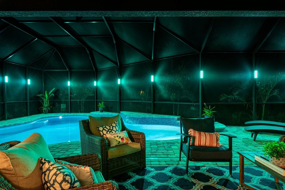 Gallery Elegant Led Lanai Lighting For Your Screen Enclosure