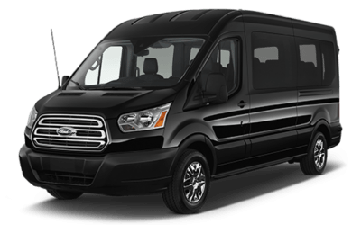 12 passengers ford transit car service