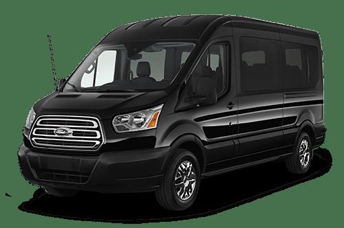 12 passengers ford transit car service