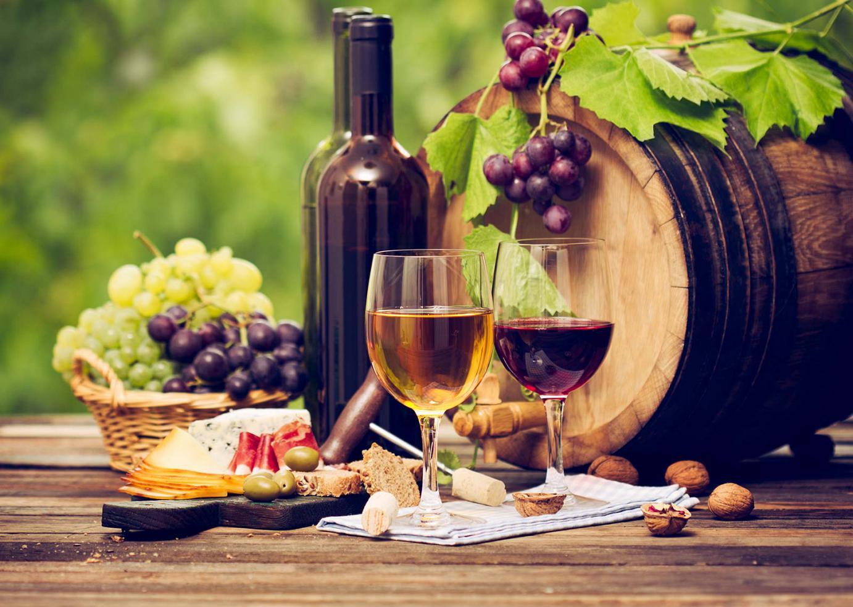 Sunset winery tours