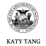 Supervisor Katy Tang