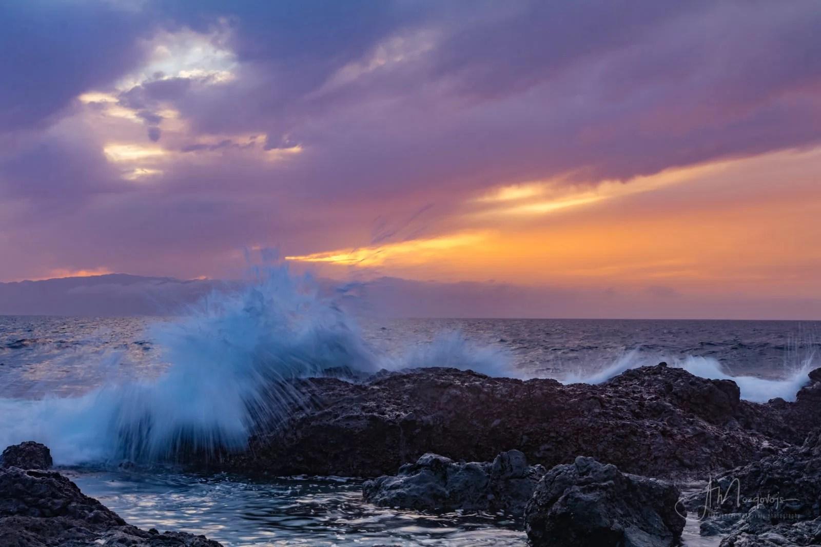 Waves at Alcala