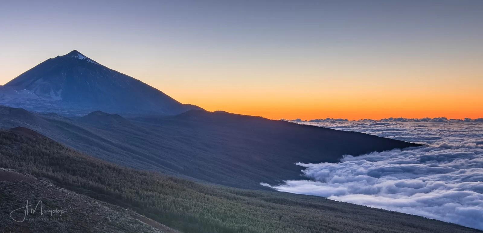 Sunset at Teide