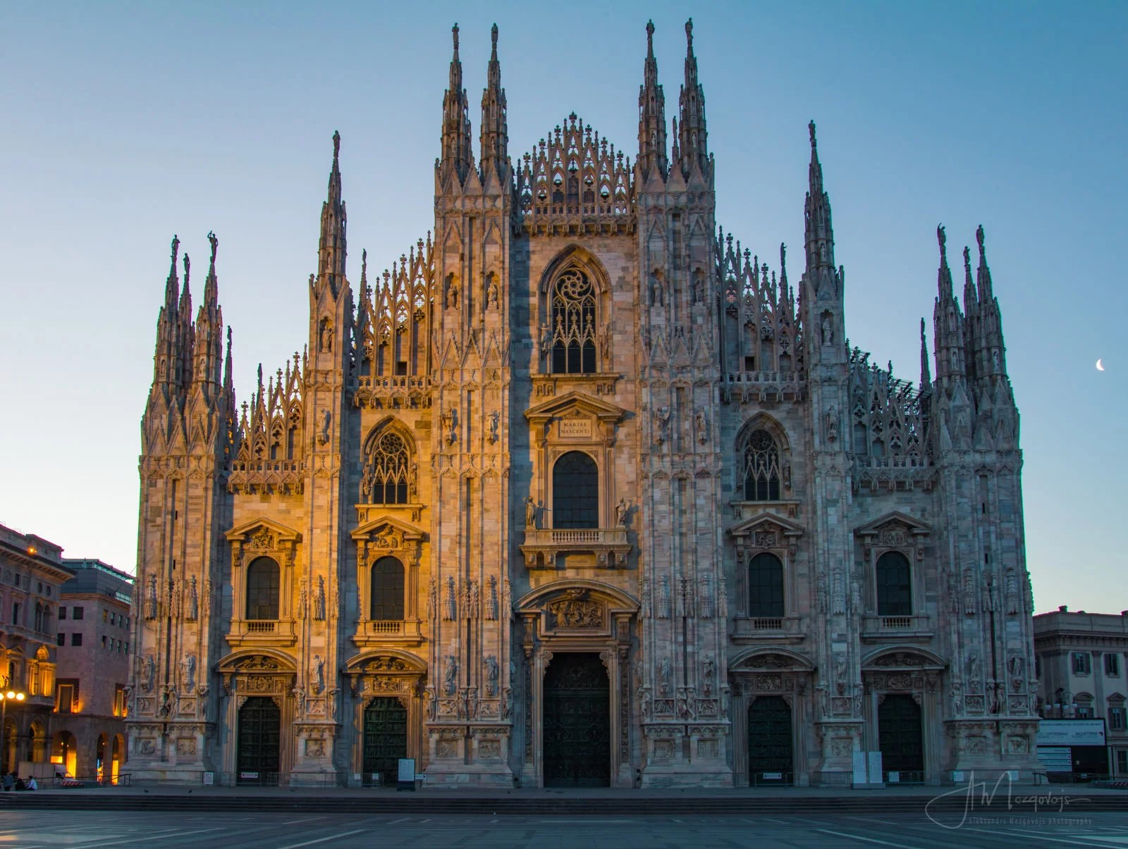 Duomo is without a doubt the number one tourist and photo location in Milan