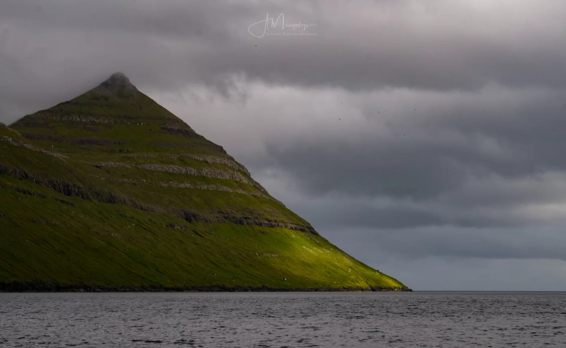 Just one of the views from aboard the ferry from Klaksvik to Kalsoy