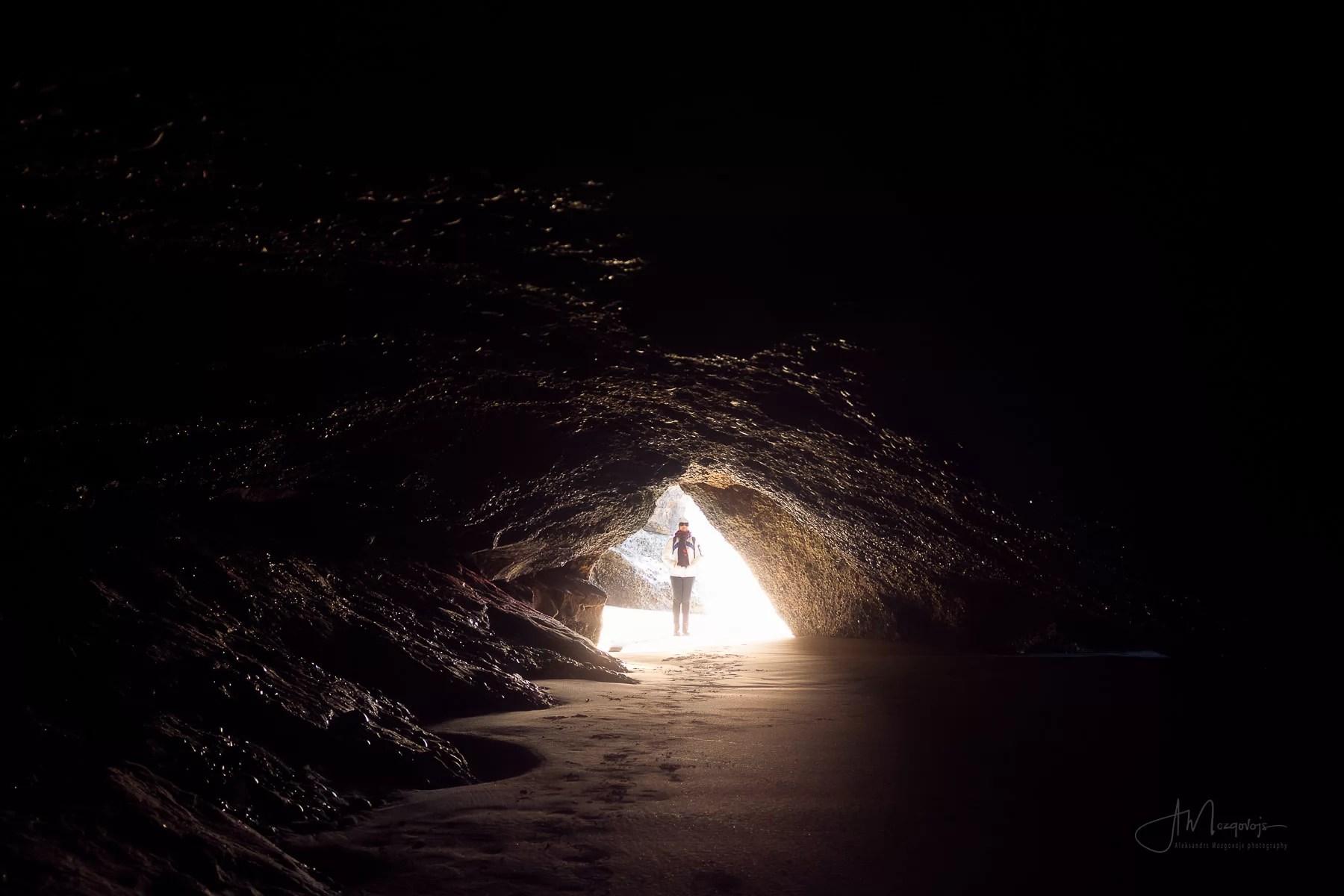 Внутри одной из пещер