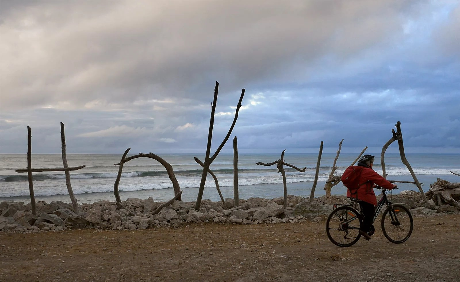Evening on the Hokitika Beach