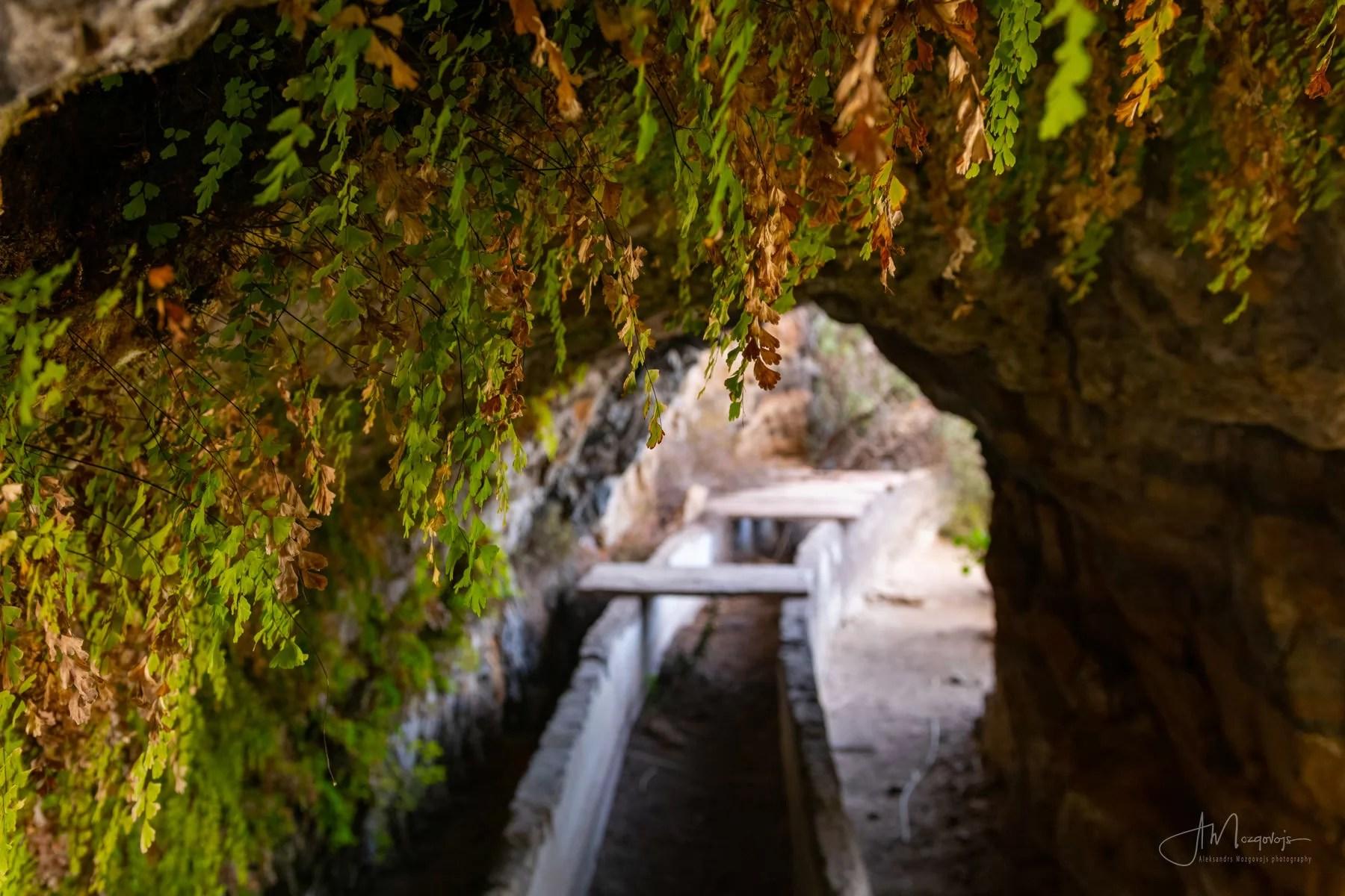 Заброшенный туннель в Вентанас де Гуимар
