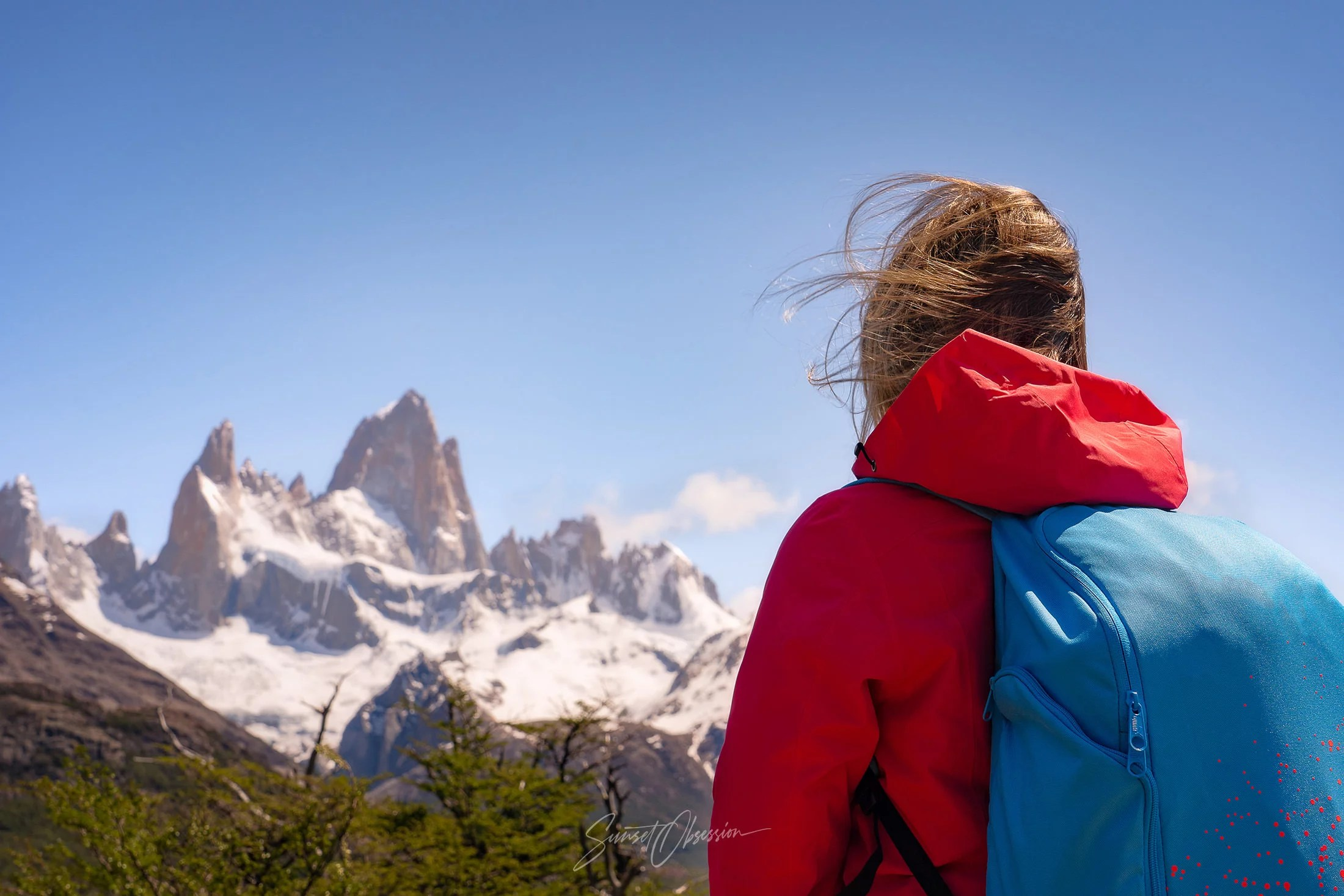 Fitz Roy is one of most known landscape photography locations in Patagonia