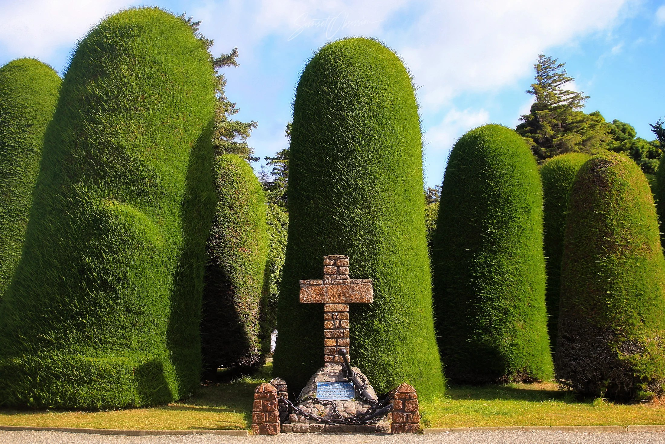 Sara Braun Cemetery is one Punta Arenas photo locations