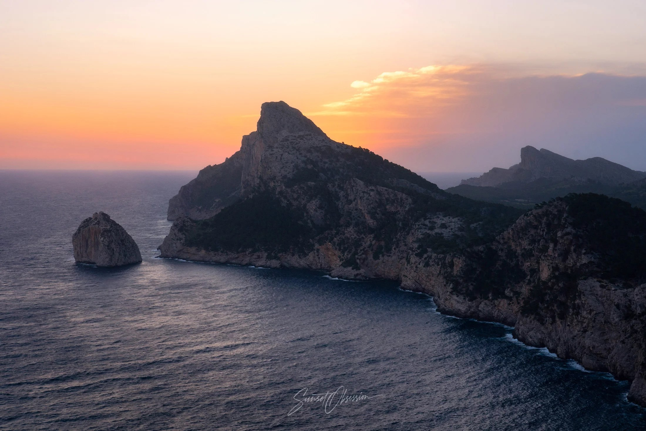 Cap de Formentor is one of the best sunrise photo spots on Mallorca, Spain