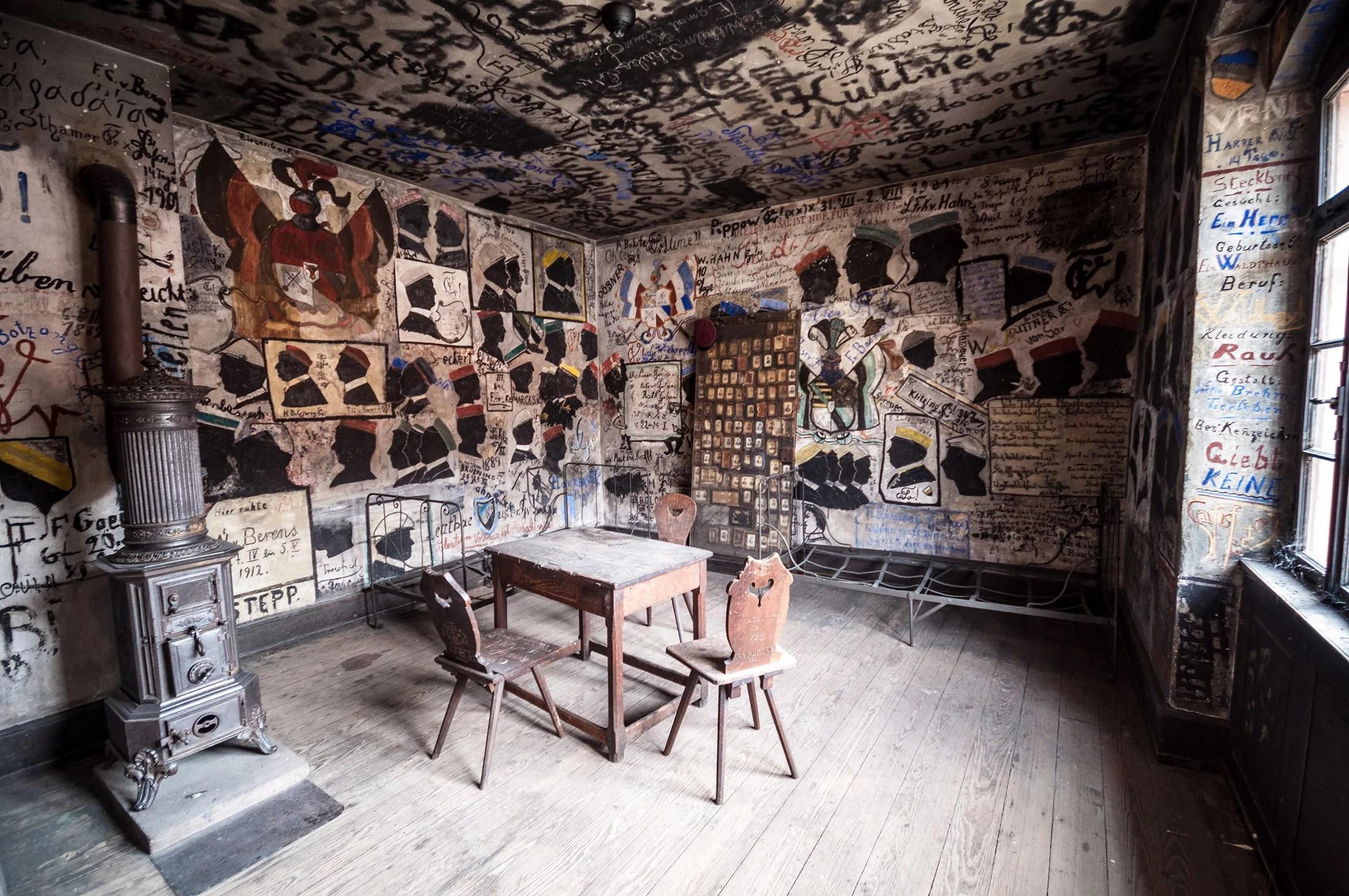 Внутри студенческой тюрьмы, Гейдельберг