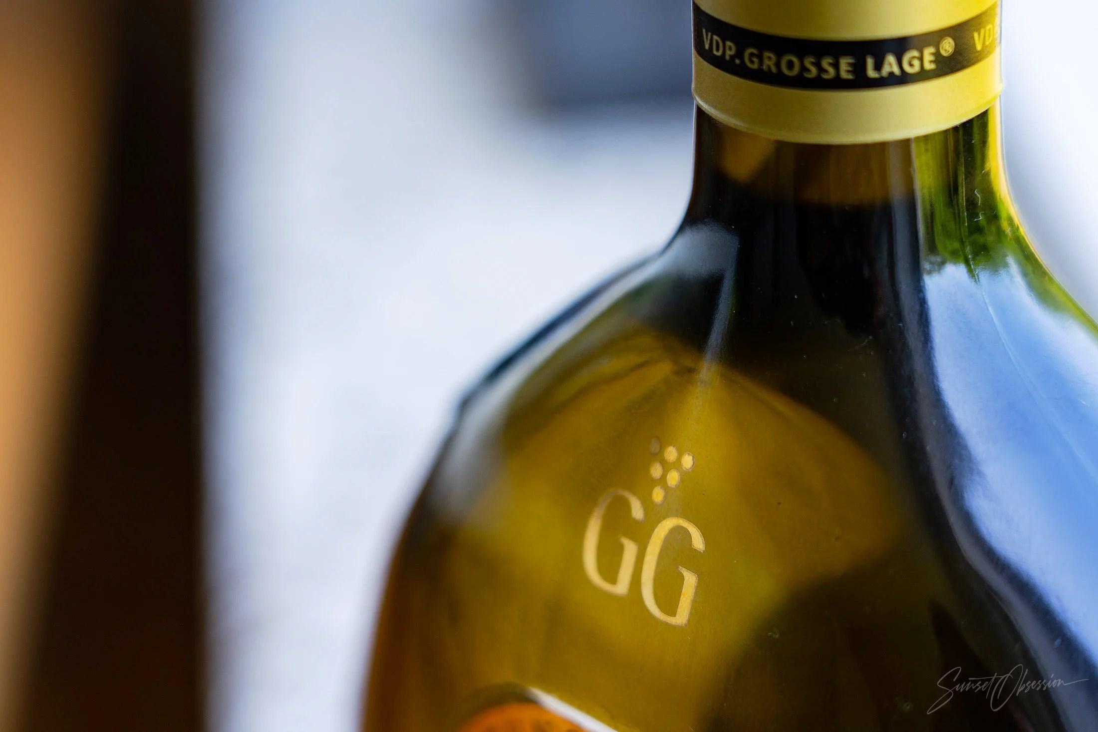 Сухое немецкое вино VDP Grose Lage дополнительно обозначается буквами GG