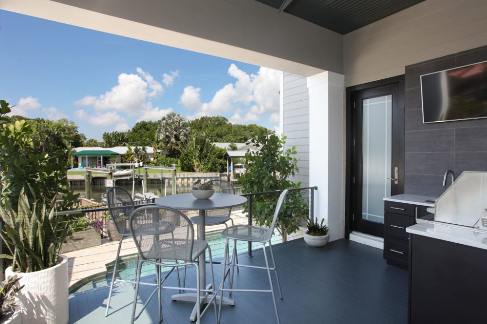 Davis Islands South Tampa Waterfront Outdoor Living