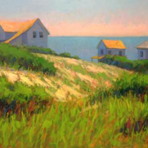Mike Rooney, Hilltop Cottages, 30x40, oil