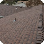 New 30 year dimensional shingles roof.