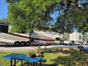Sunset RV Resort - Amenities - photo of Large RV Rig at Park