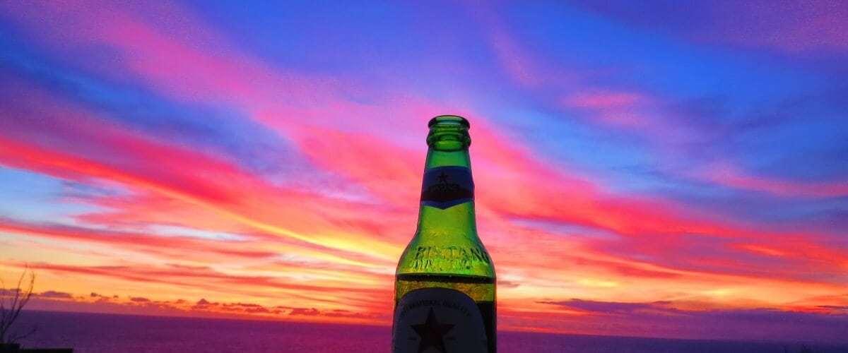 Bintang at sunset