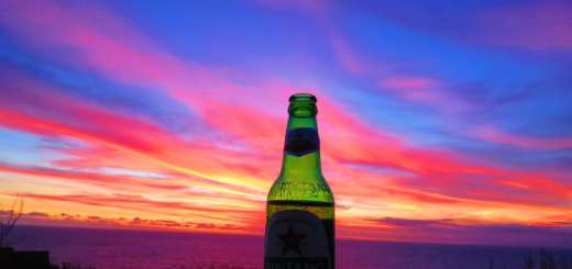 Bintang at sunset