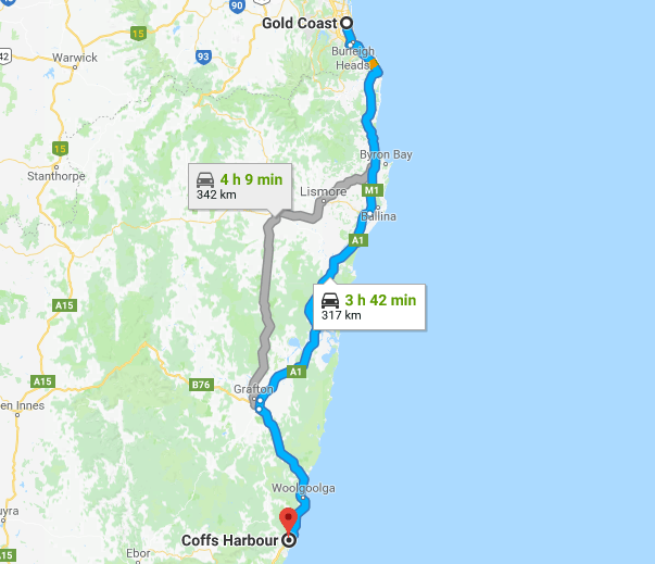 The Perfect East Coast Of Australia Road Trip Guide 2018