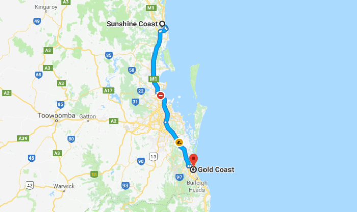 The Gold Coast 3 Day Itinerary Approximately 2 Hours Drive From Sunshine Coast