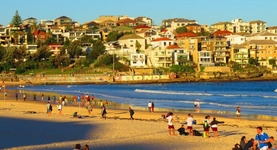 View of Bondi Beach, Australia