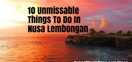 10 Unmissable Things To Do In Nusa Lembongan & Nusa Ceningan