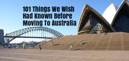 101 things you need to know before moving to Australia