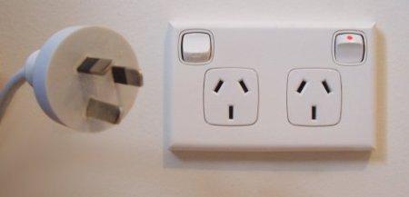 australia power plug