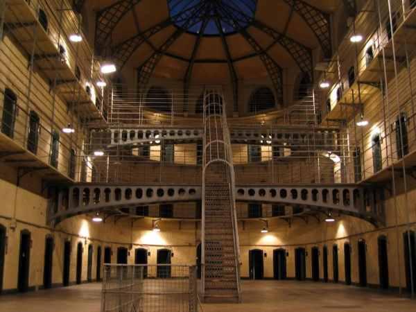 Irish Famous Jail in Dublin Ireland